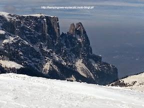 Na zdjęciu region narciarski Alpe di Siusi
