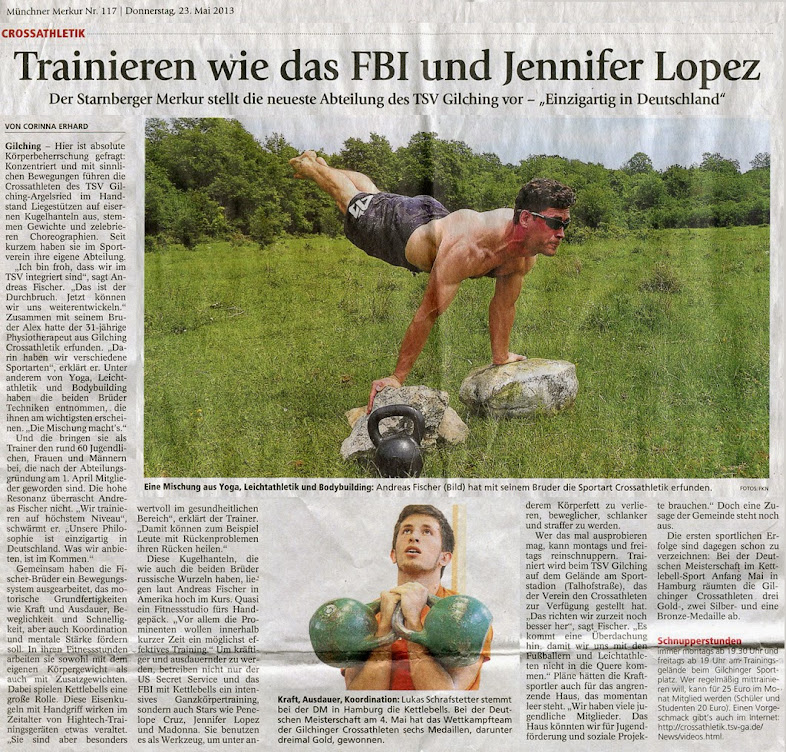 Münchner Merkur 23.05.2013