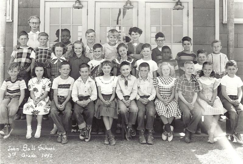 John Ball 3rd grade 1952