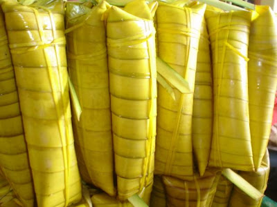Suman or Budbod in Bisaya is a Filipino delicacy