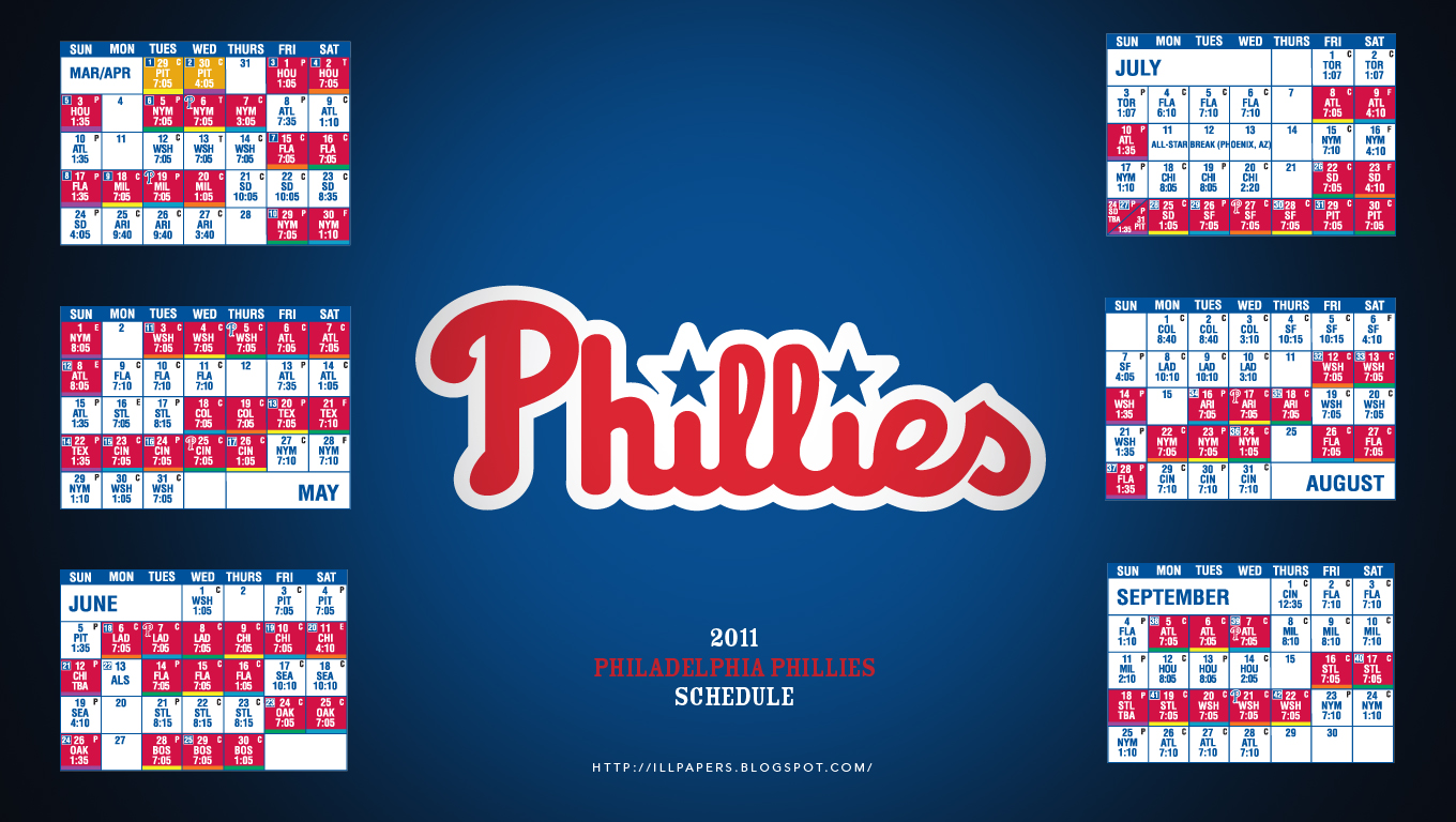 2011 Philadelphia Phillies Wallpaper