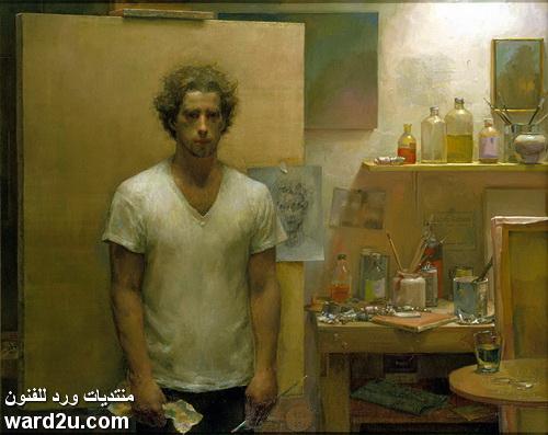 الفنان الواقعى الامريكى Jacob Collins