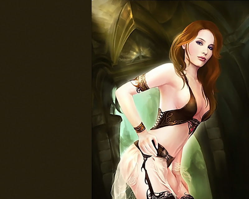 Cute Angel Lady, Magic Beauties 5