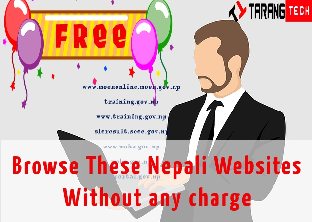 List Of Nepali website You Can Browse Without Any Cost