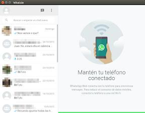 Whatsapp en Ubuntu - 1