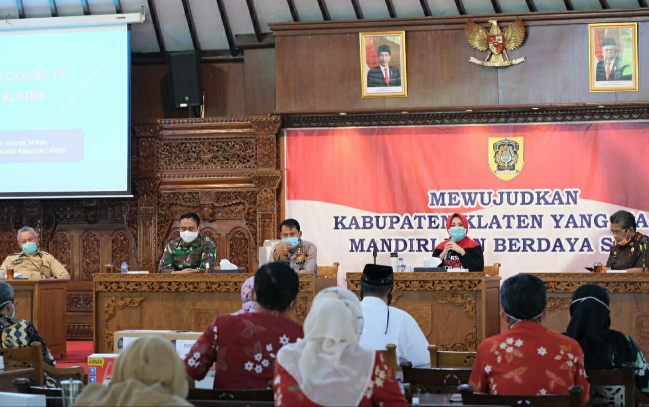 Pandemi Covid-19 Puluhan Ribu KK di Klaten Akan Menerima JPS Dari Pemerintah