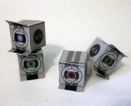 Portal Petites Paper Toys Batch 3