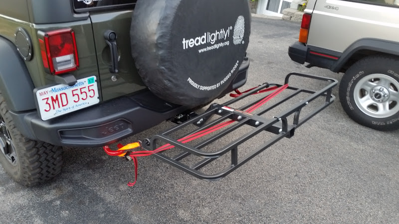 High Clearance Hitch Cargo Rack Expedition Portal