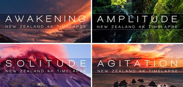 Paisagens da Nova Zelândia