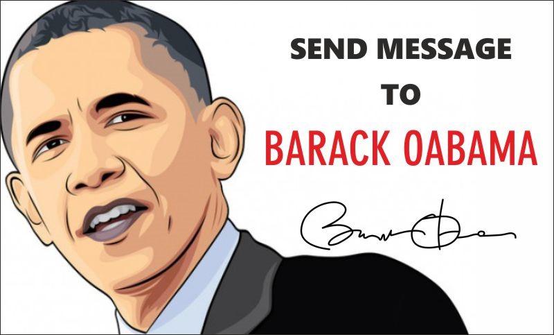 contact president barack obama