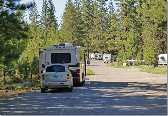 Going Rv Way Granite Flat Campground Along Truckee River