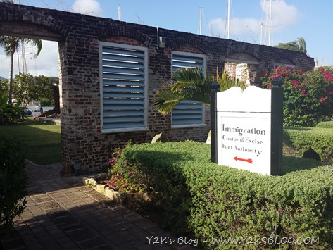 Ufficio Immigrazione e Dogana ad English Harbour - Antigua