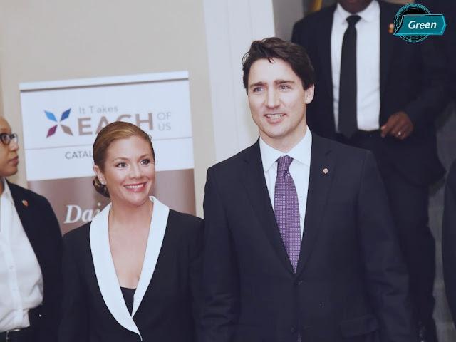 صوفي جريجوار ترودو، زوجة رئيس الوزراء الكندي جاستن ترودو