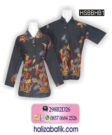Grosir Batik Pekalongan Murah, Model Baju Batik Sarimbit, Busana Batik Modern, HLZSBBKP