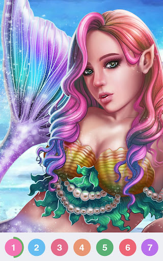 Art Coloring - Coloring Book & Color By Number 2.0.0 screenshots 9