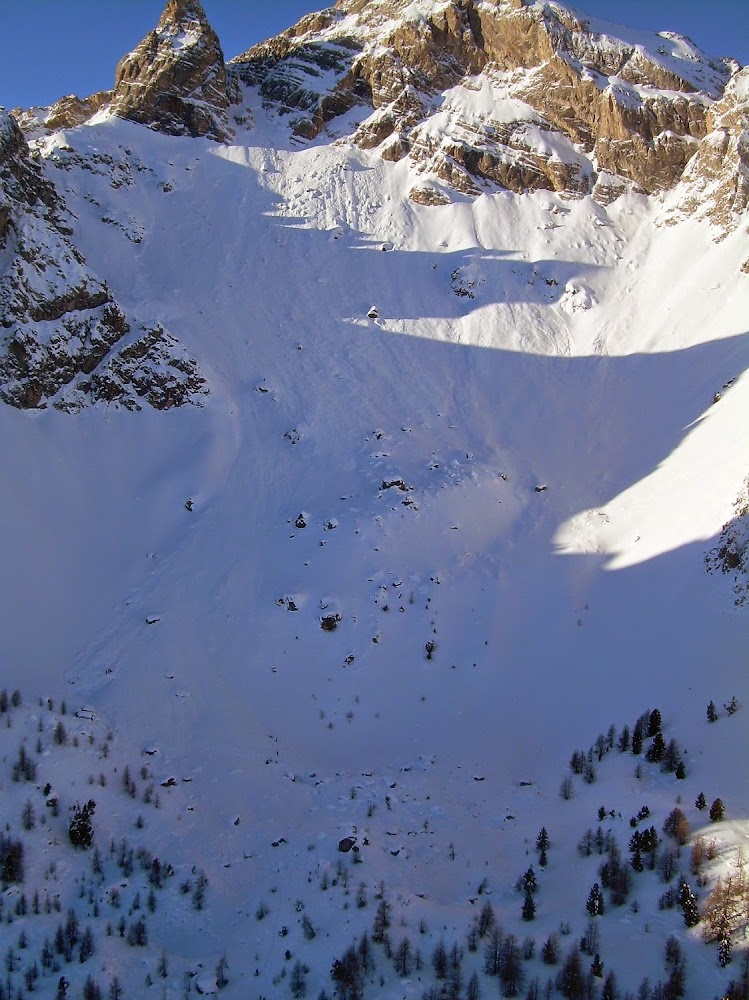 Avalanche Queyras, secteur Ceillac, Vallon du Bachas - Photo 1