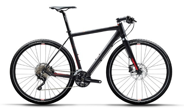 bicicleta carretera manillar plano