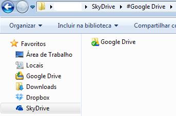 Backup múltiplo automágico com Dropbox, Skydrive e Google Drive 3