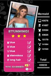 Style Me Girl Level 55 - Mermaid - Fara - Stunning! Three Stars