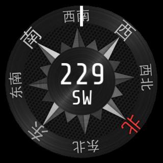 Wear 3D指北针 指南针