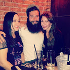Heather, Conor, and I at Loaded on Saturday 10/25/14 for my birthday.