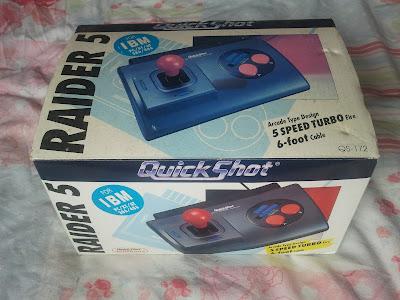 The QuickShot Raider 5 box