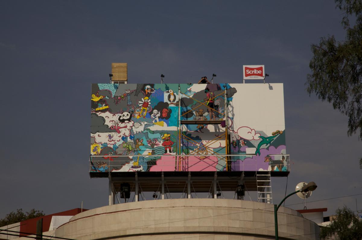 *藝術家 julio gomez trevilla:廣告刊版的房子! 2