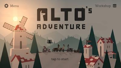 android yang terkenal di Google Play Store pada bulan Februari  Review Alto's Adventure - Game Aksi Paling Indah Tahun Ini