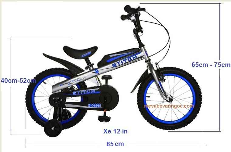 Xe đạp cho trẻ em Stitch 12 inch