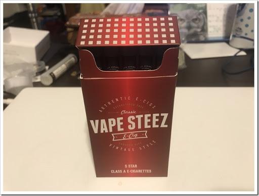 IMG 3875 thumb - 【リトルシガー?】VAPE STEEZオリジナル使い捨て電子タバコレビュー!禁煙薬ブプロンSRを取り寄せて飲んでみた話【個人輸入】
