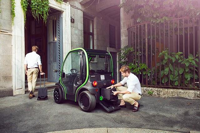 *Birò Estrima:零耗油零汙染,輕巧容易駕駛的環保概念車! 4