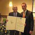 Mirko Kos i predsjednik HPD-a Jastrebarsko Igor Plantaš