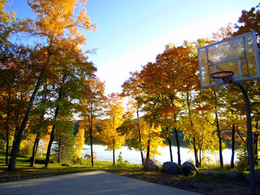 One of the most scenic basketball courts in the world