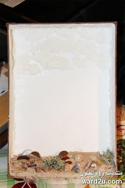 شجره خرز فى تابلوه بسيط وجميل