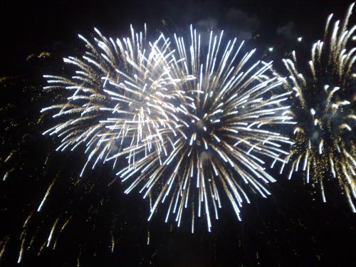 Voltri, fuochi artificio