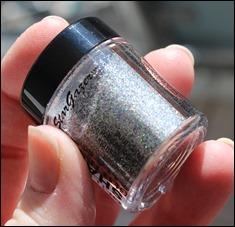 StarGazer Glitter Shaker Swatches Hologramm Silver