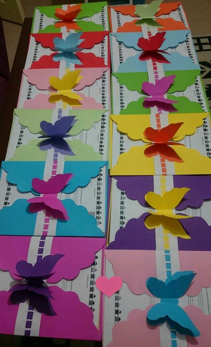 M Bel F R Ankleidezimmer más y más manualidades bellas invitaciones con tema de mariposas