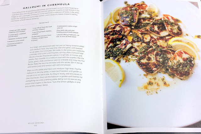 Halloumi in Chermoula recipe from the book Seven Spoons by Tara O'Brady