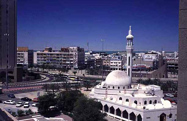 Kuwait city mosque