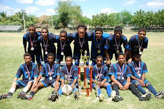 La Vega, campeón de la  Liga Nacional Juvenil de Fútbol