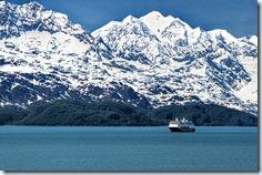 Cruise Ship in Glacier Bay
