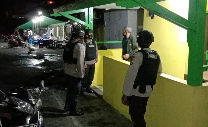 Cegah Kriminalitas Di Wilayah Kota Balikpapan, Brimob Kaltim Gencarkan Patroli Malam