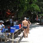 Breakfast at Sipadan island between dives