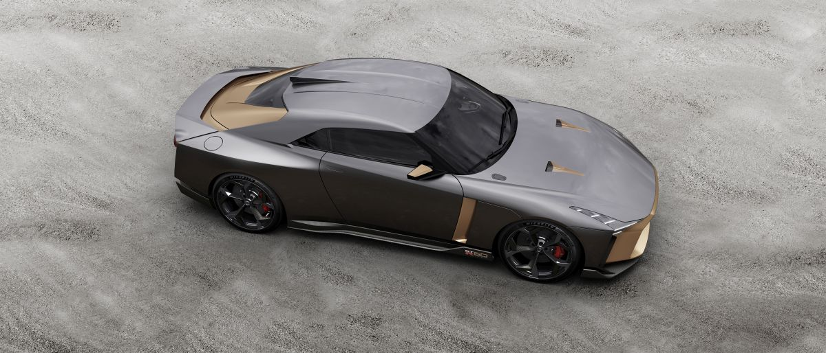 nissan gt r50 by italdesign debuts at goodwood festival of speed w video. Black Bedroom Furniture Sets. Home Design Ideas