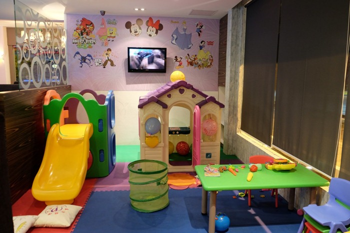 The Children S Playground Section Is Perfect For Families With Little Ones This Nicely Hidden On Side Of Restaurant And Will