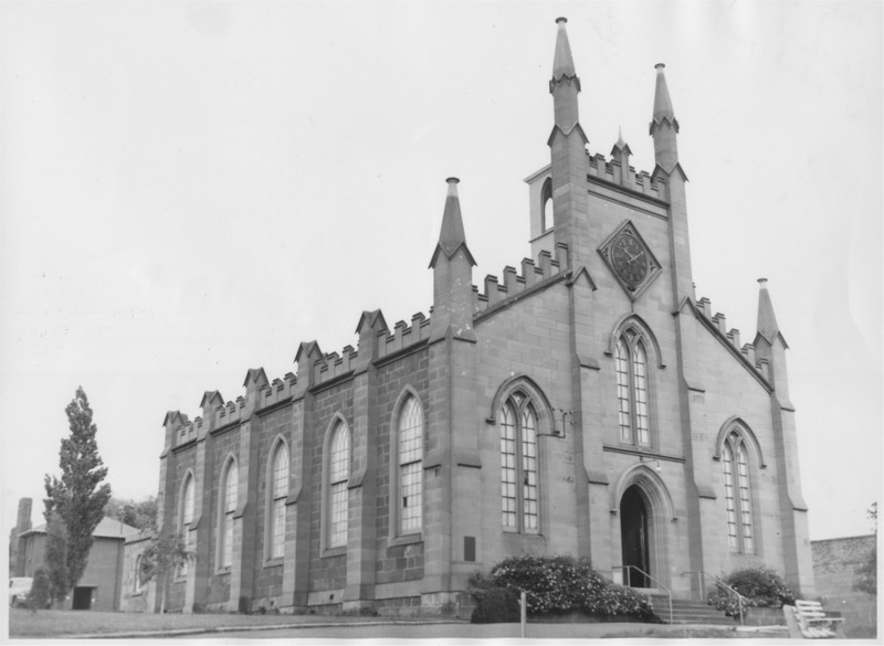 'Scots Church' (previously called St. Andrews Church), Bathurst St, Hobart,