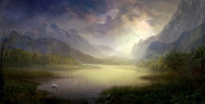 Silent Morning, Magical Landscapes 6