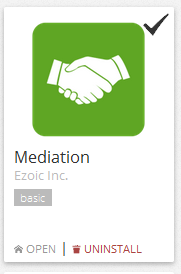Ezoic Mediation App