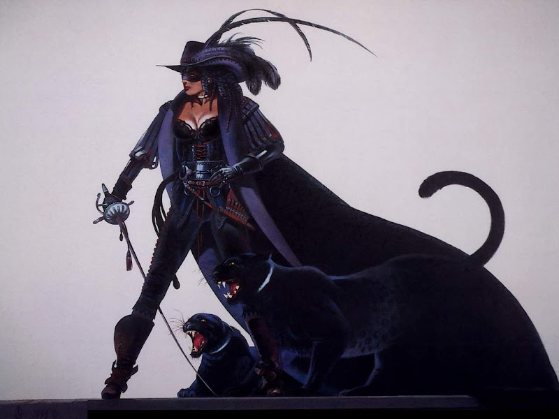 Cats Of Knight In Black, Mystic Cats