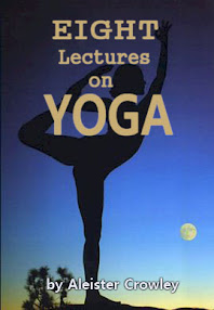 Cover of Aleister Crowley's Book Eight Lectures on Yoga
